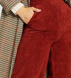 velours-cotelé-mode-tendance-pantalon-rouge-manteau-british-carreaux